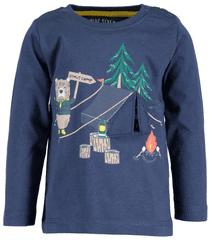 Blue Seven chlapčenské tričko Camp 62 tmavomodrá