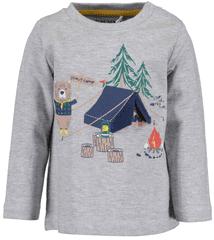 Blue Seven chlapecké tričko Camp 62 šedá