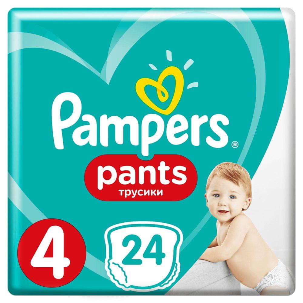 Pampers Pants Kalhotkové plenky 4 (9-15 kg) Carry Pack 24 ks