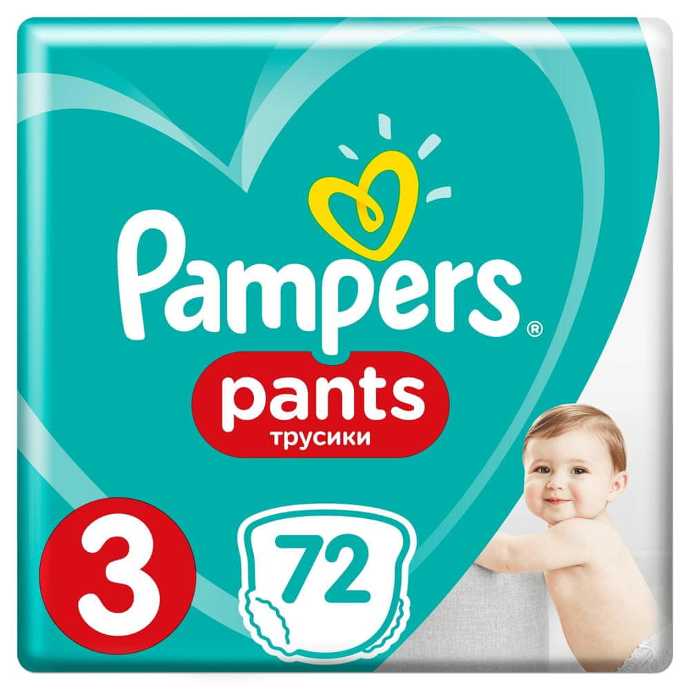 Pampers Pants 3 (6-11 kg) Giant Pack 72 ks
