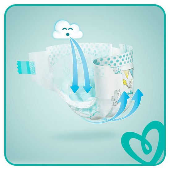 Pampers Pieluchy Active Baby 4 Maxi (9-14kg) Giant Pack - 76 szt.