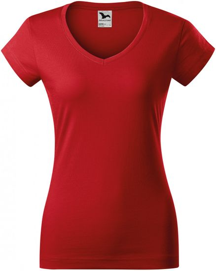 Malfini Dámské triko s hlubším V výstřihem