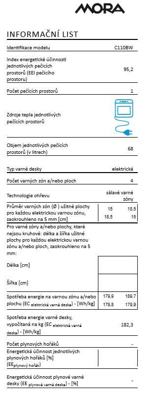 Mora C 110 BW