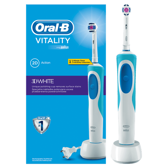 Oral-B električna zubna četkica Vitality 3D White