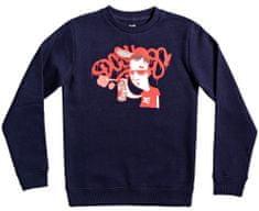 DC Karved Crew fantovski pulover, temno moder, 158