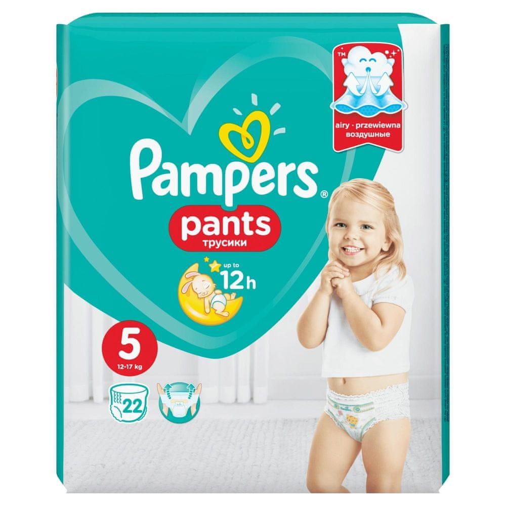 Pampers Pants 5 (12-17 kg) Carry Pack - kalhotkové plenky 22 ks