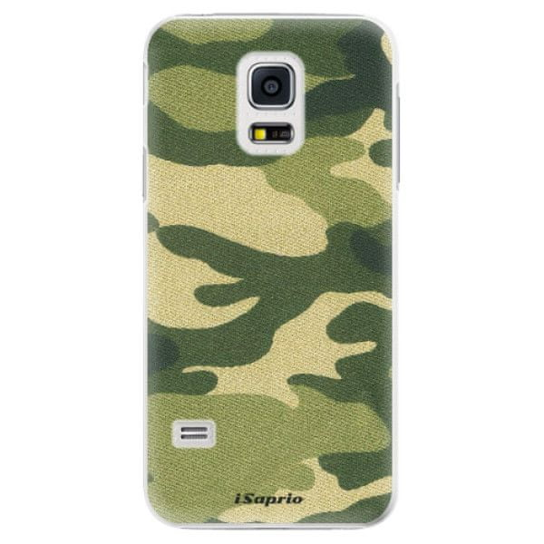 iSaprio Plastový kryt - Green Camuflage 01 pro Samsung Galaxy S5 Mini