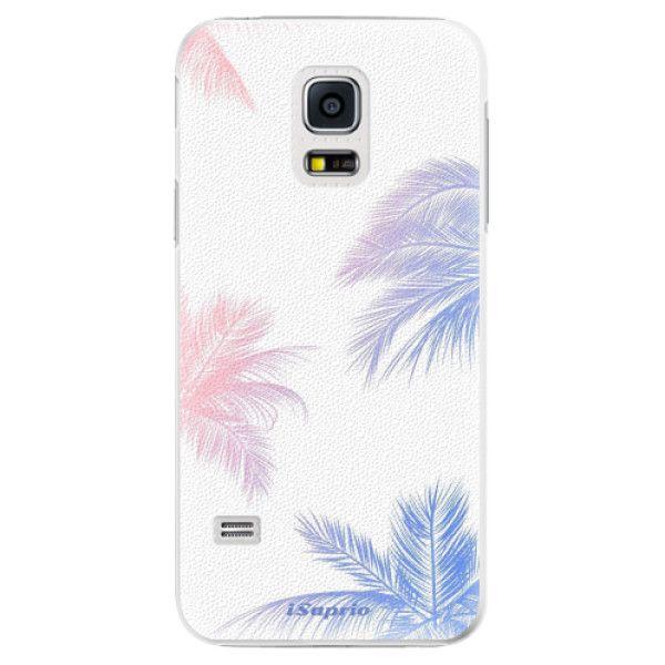 iSaprio Plastový kryt - Digital Palms 10 pro Samsung Galaxy S5 Mini
