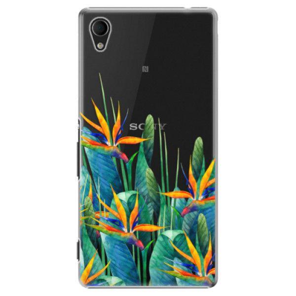 iSaprio Plastový kryt - Exotic Flowers pro Sony Xperia M4 Aqua