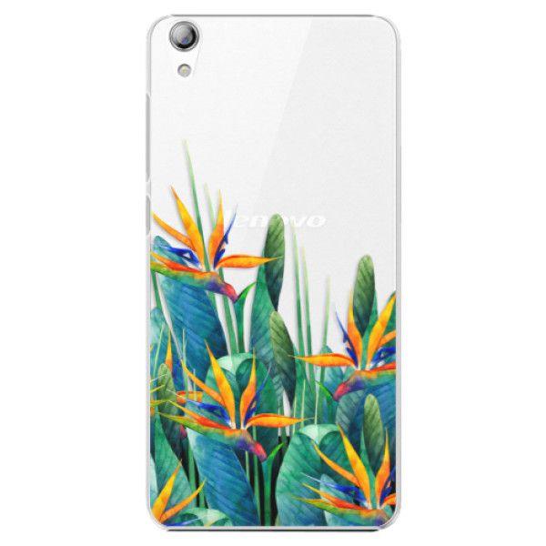 iSaprio Plastový kryt - Exotic Flowers pro Lenovo S850