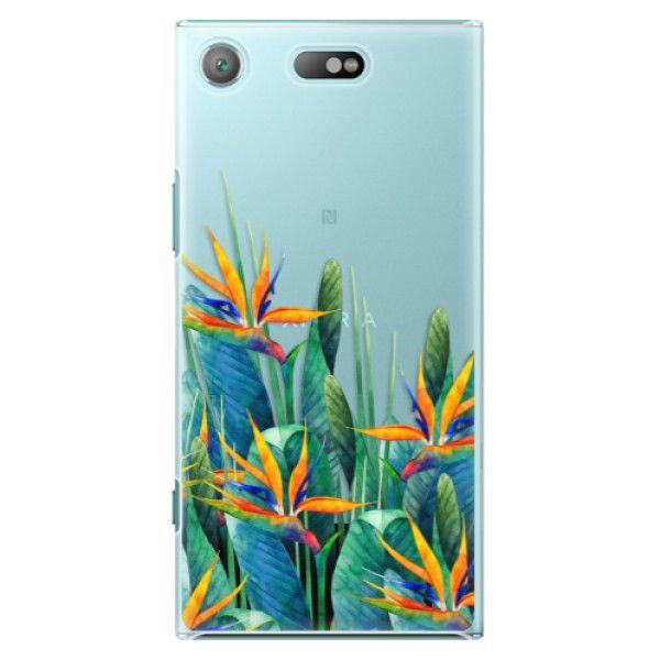 iSaprio Plastový kryt - Exotic Flowers pro Sony Xperia XZ1 Compact