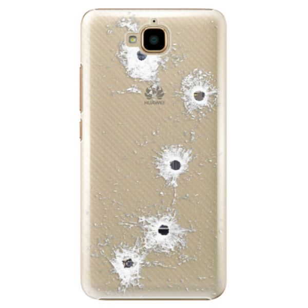 iSaprio Plastový kryt - Gunshots pro Huawei Y6 Pro