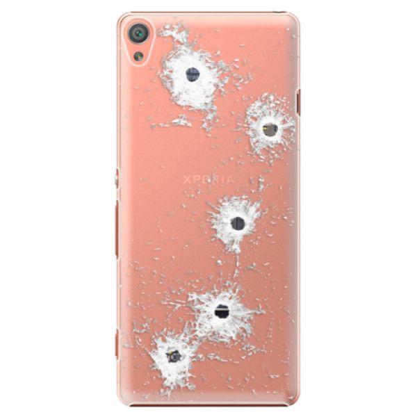 iSaprio Plastový kryt - Gunshots pro Sony Xperia XA