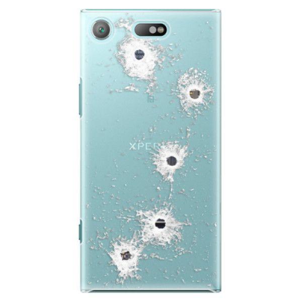iSaprio Plastový kryt - Gunshots pro Sony Xperia XZ1 Compact