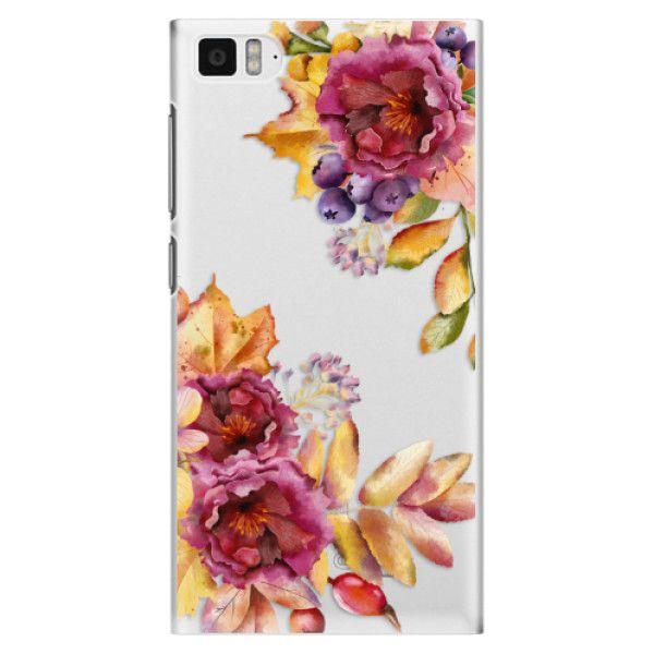 iSaprio Plastový kryt - Fall Flowers pro Xiaomi Mi3