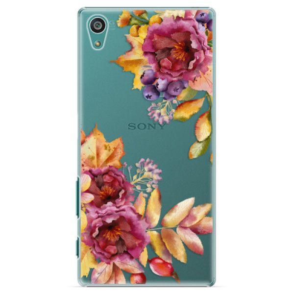 iSaprio Plastový kryt - Fall Flowers pro Sony Xperia Z5