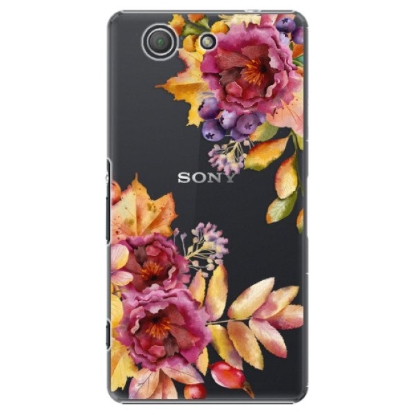 iSaprio Plastový kryt - Fall Flowers pro Sony Xperia Z3 Compact