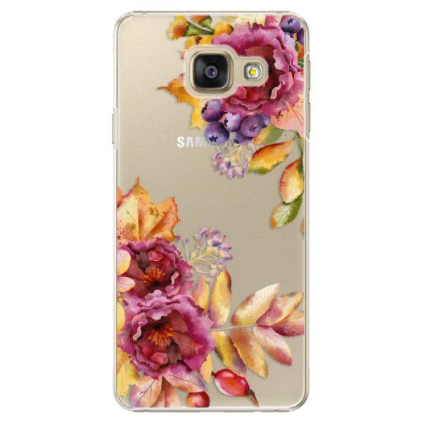 iSaprio Plastový kryt - Fall Flowers pro Samsung Galaxy A3 2016