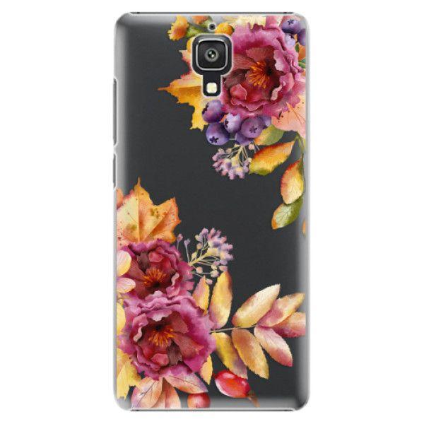iSaprio Plastový kryt - Fall Flowers pro Xiaomi Mi4