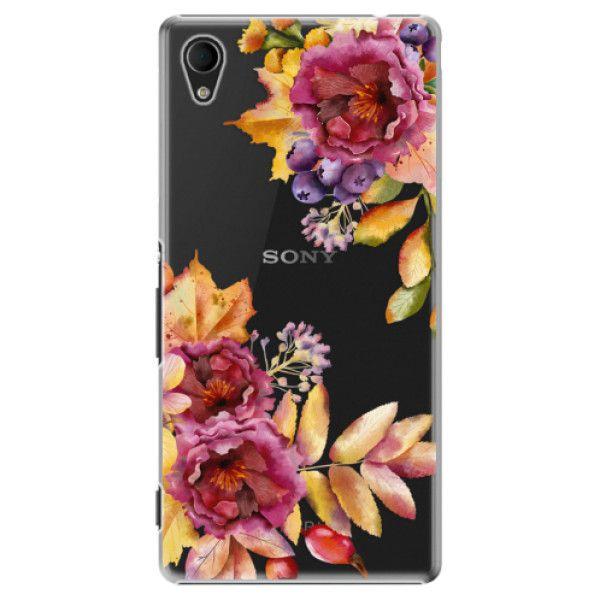 iSaprio Plastový kryt - Fall Flowers pro Sony Xperia M4 Aqua