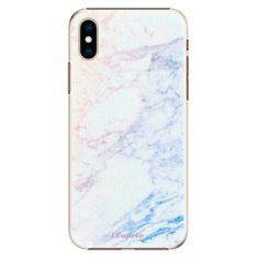 iSaprio Plastový kryt - Raibow Marble 10 pro Apple iPhone Xs