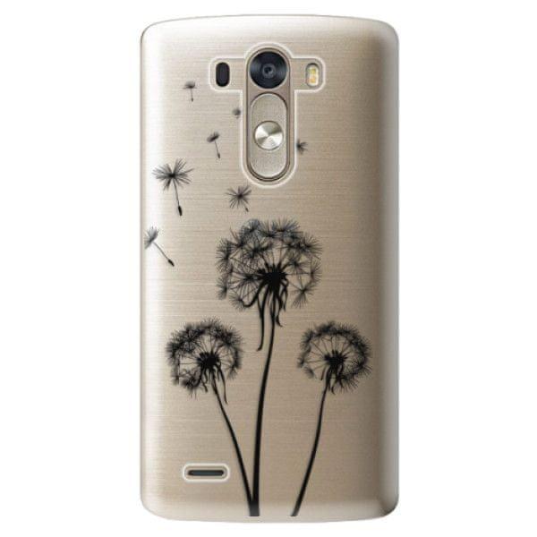 iSaprio Plastový kryt - Three Dandelions - black pro LG G3