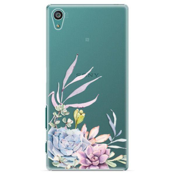 iSaprio Plastový kryt - Succulent 01 pro Sony Xperia Z5