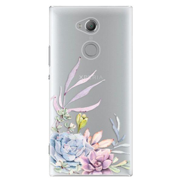 iSaprio Plastový kryt - Succulent 01 pro Sony Xperia XA2 Ultra