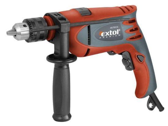 Extol Premium Vrtačka s příklepem, 750W, HD 750 CA, 8890012