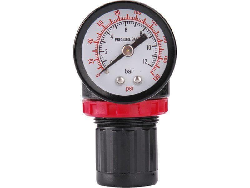 Extol Premium Regulátor tlaku s manometrem, max. prac. tlak 8bar (0,8MPa)