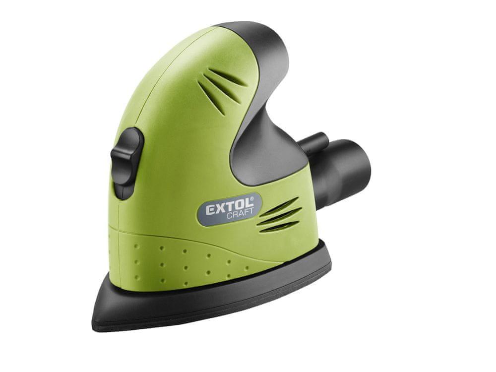 Extol Craft Bruska vibrační, delta, 125W, 407130
