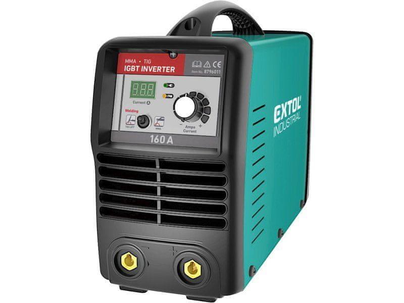 Extol Industrial Invertor svařovací 160A Smart, 8796011, záruka 3 roky