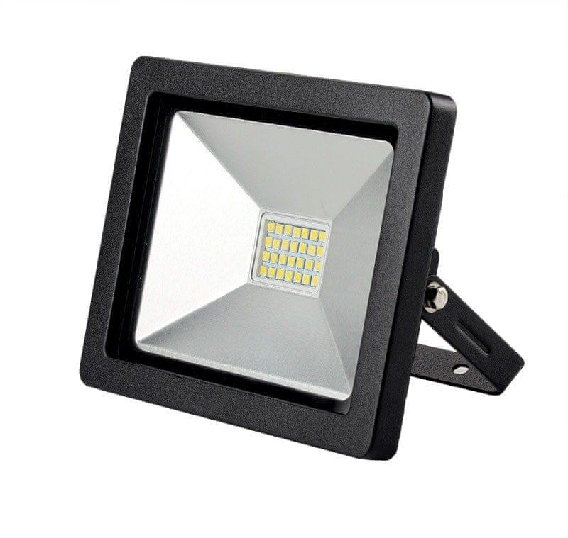 Solight Solight LED venkovní reflektor SLIM, 20W, 1400lm, 3000K, černá WM-20W-G