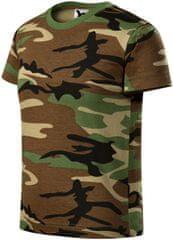 Malfini Camouflage brown dětské tričko maskáčové