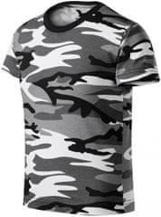 Malfini Camouflage gray dětské tričko maskáčové