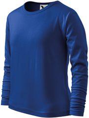 Malfini Královsky modré dětské tričko s dlouhým rukávem