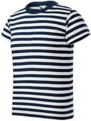 Malfini Tmavomodré tričko námořnické dětské