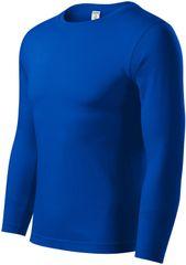Piccolio Královsky modré tričko s dlouhým rukávem, snadněji