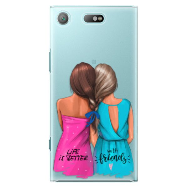 iSaprio Plastový kryt - Best Friends pro Sony Xperia XZ1 Compact