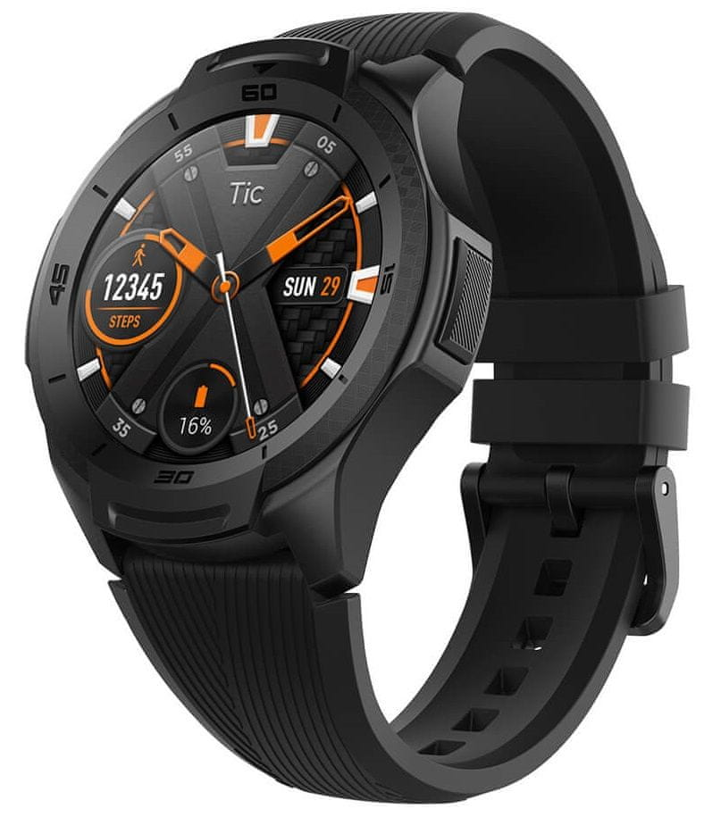 TICWATCH S2, Midnight Black