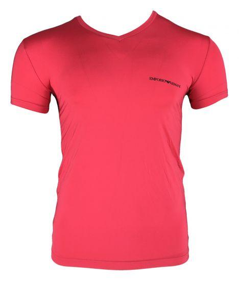 Emporio Armani Pánské tričko 110810 9P719 04873 růžová - Emporio Armani