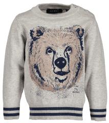 Blue Seven sweter chłopięcy z niedźwiedziem 62 beżowy