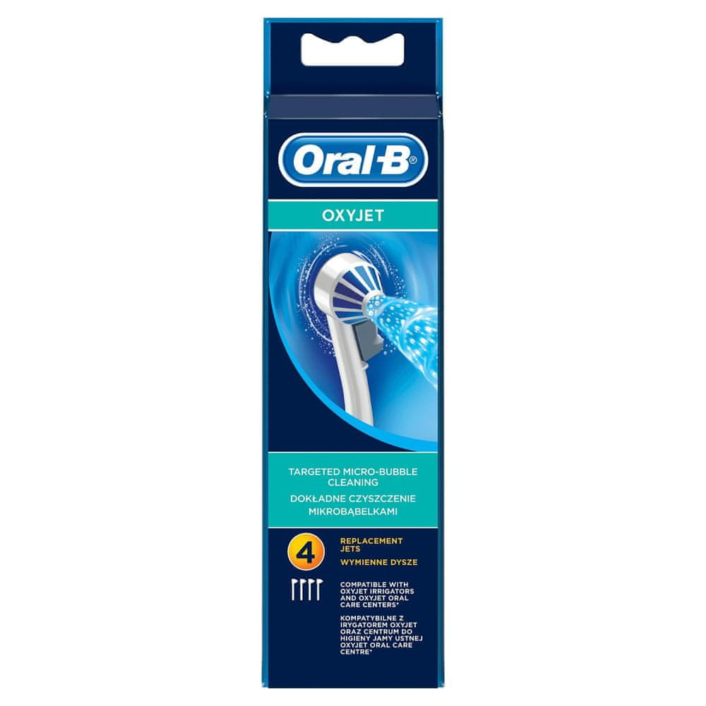 Oral-B Oxyjet 4 ks náhradní hlavice