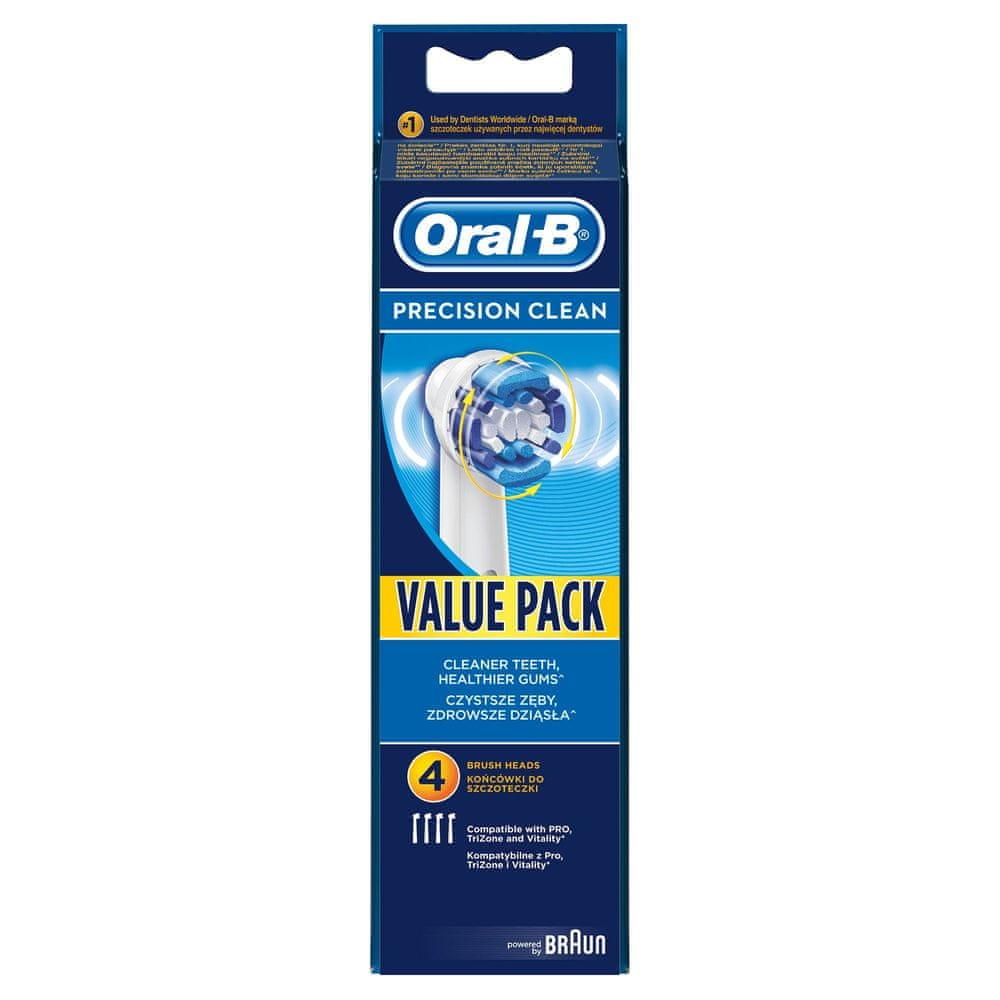 Oral-B Precision Clean 4 ks náhradní hlavice