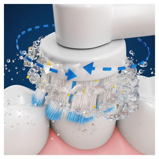 Oral-B elektrický zubní kartáček Genius X 20000 Rose Gold Sensitive Luxe edition