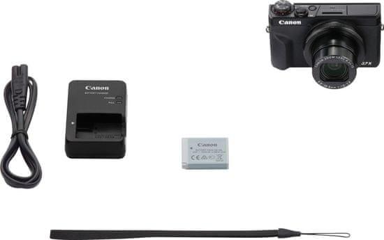 Canon PowerShot G7 X Mark III - rozbalené