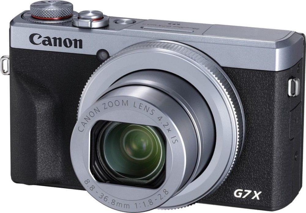 Canon PowerShot G7 X Mark III Silver (3638C002)