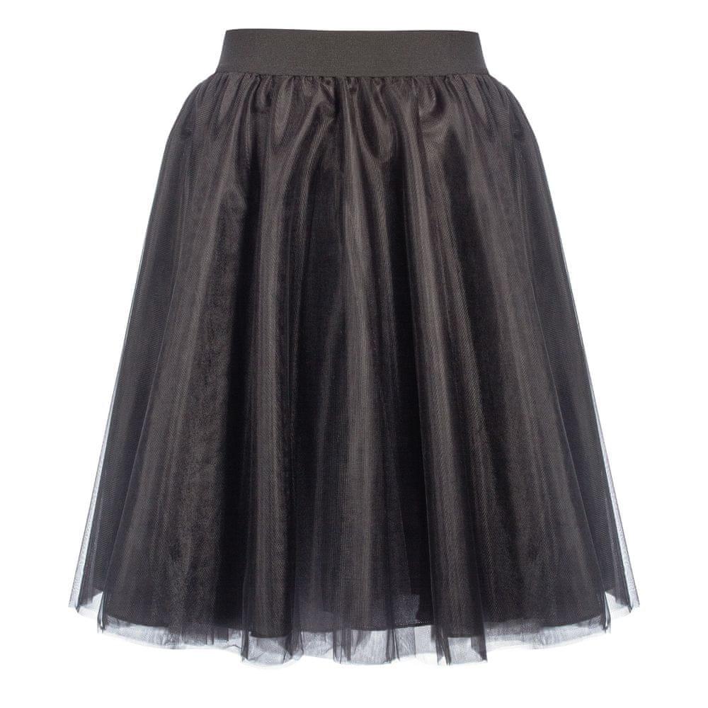 Cheremyha Tylová tutu sukně černá kolová