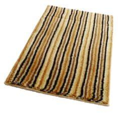 ROUTNER Fürdőszoba-szőnyeg, cseh produkció, PESCINA Barna-bézs - 50 x 80 cm