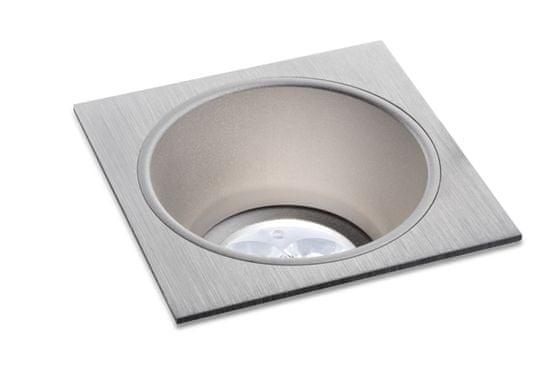 BPM BPM Vstavané svietidlo Aluminio Plata, kartáčovaný hliník 1x50W, 12V 4788 3030